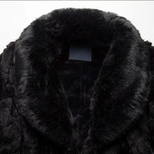 Load image into Gallery viewer, Men Faux Fur Winter Overcoat Coat