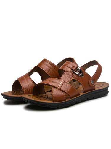 Men Hollow Out Casual Daily Beach Sandal