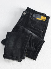 Load image into Gallery viewer, Men's Winter Fashion Denim Pants