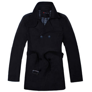 Men Windbreaker Parka Coat