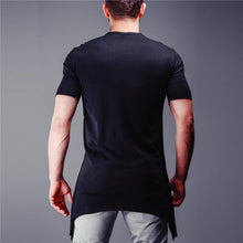 Load image into Gallery viewer, Men Round Neck Short Sleeves T-Shirt