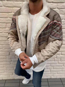 Men Winter Warm Leather Outerwear