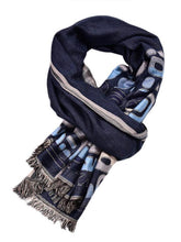 Load image into Gallery viewer, Men's Flannel Graphic Scarfs
