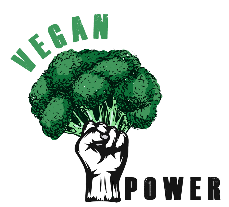 Vegan Power - Dorian Sky Apparel