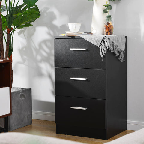 File Cabinet with 3 Drawers 66x35x38CM