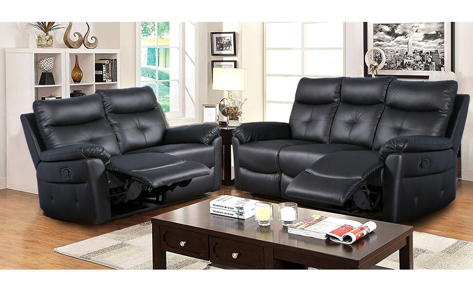 Luxury PU Leather 3 + 2 Sofa Set