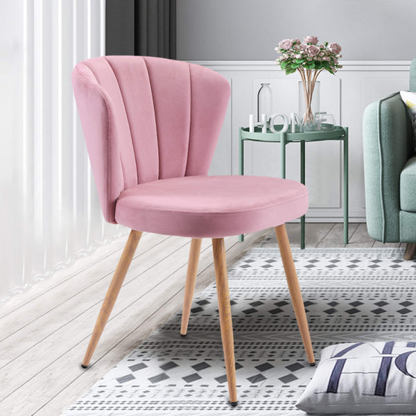 Oyster Armchair Pink