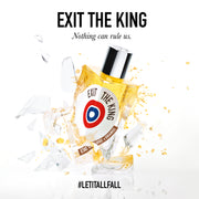 Exit the King Ad visual