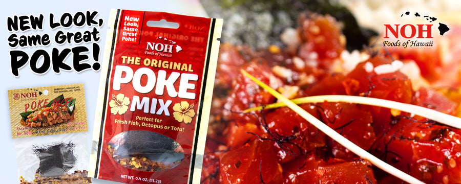 New look, same great poke! NOH Foods Original Poke Mix