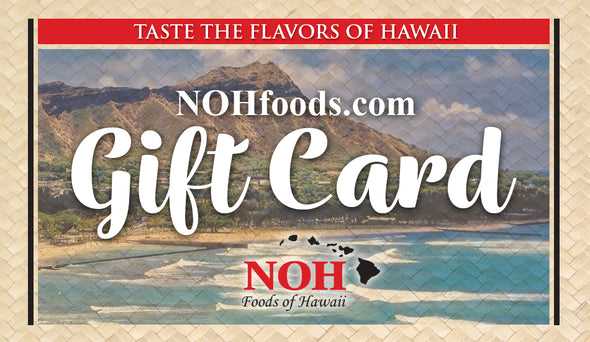 NOHfoods.com Gift Cards