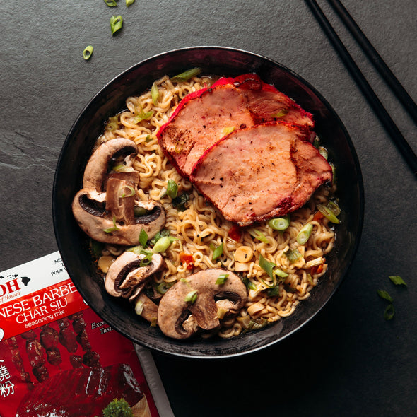 Chinese Barbecue (Char Siu) Pork with Noodles