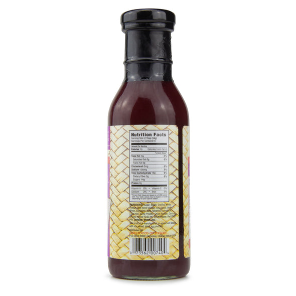 Sweet & Sour Sauce - Nutrition Information