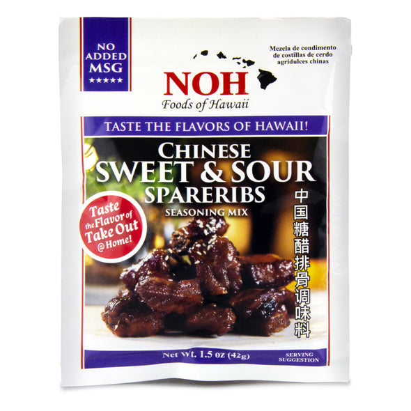 Chinese Sweet & Sour Spareribs Seasoning Mix - Noh Foods