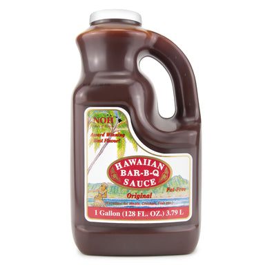 1 Gallon Hawaiian BBQ Sauce