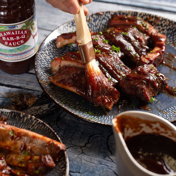Hawaiian BBQ Ribs
