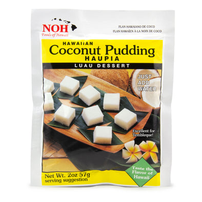 Hawaiian Coconut Pudding Mix Haupai Luau Dessert - Noh Foods