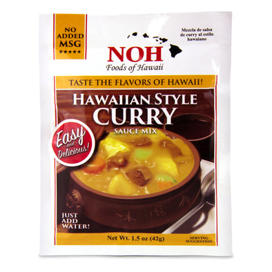 Hawaiian-Style Curry Sauce Mix - Noh Foods