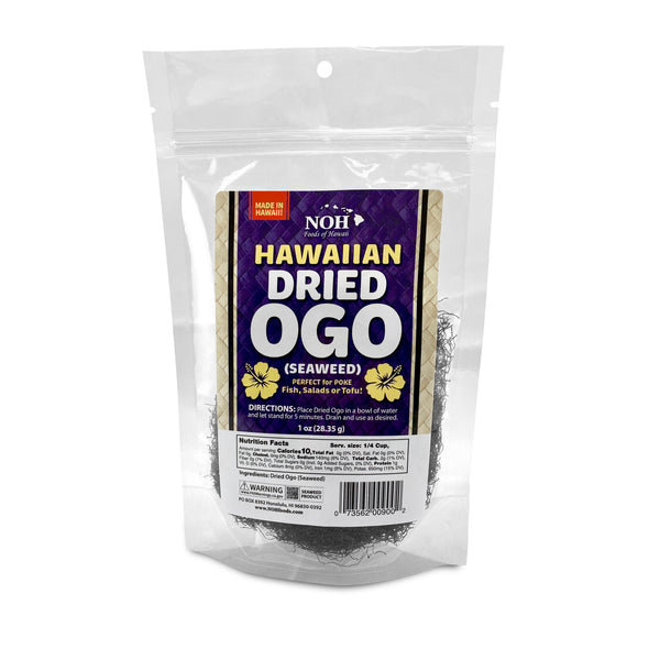 Hawaiian Dried Ogo (Seaweed)