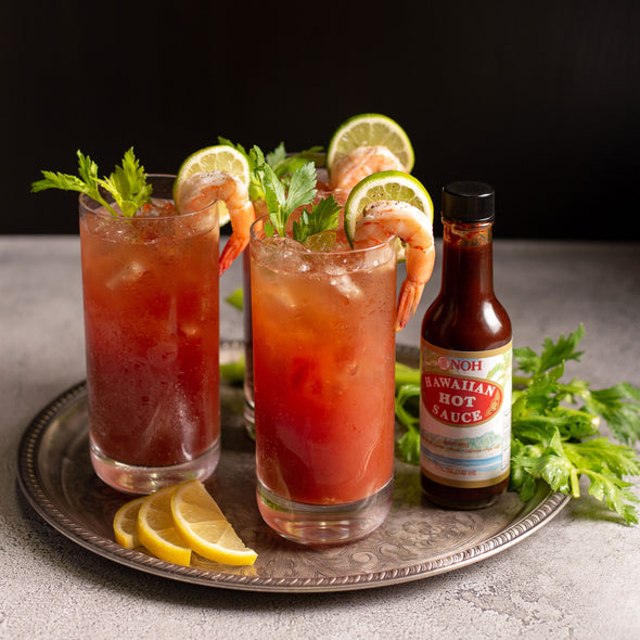 Hawaiian hot sauce bloody marry recipe