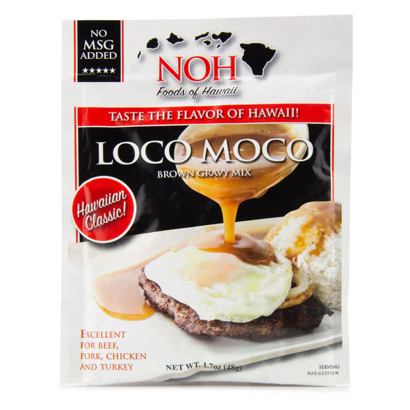 Hawaiian Loco Moco Brown Gravy Mix - Noh Foods