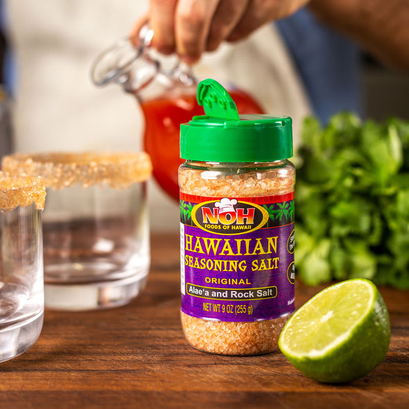 Original Hawaiian Salt - Salted rim for drinks