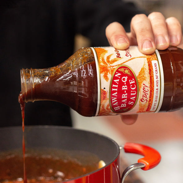 Spicy Hawaiian BBQ Sauce Reciepe