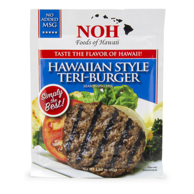 NOH Hawaiian Style Teri-Burger Seasoning Mix
