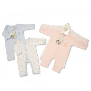 Incubator sleep suit, two pack