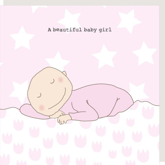 Beautiful Baby boy/girl greeting card