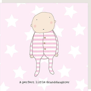 A perfect little grandson/daughter card