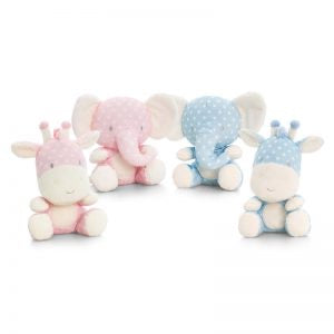 Spotty wild animals teddies