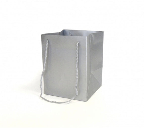 Luxury silver gift bag