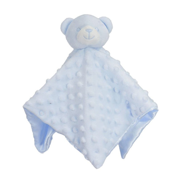 Dimple bear comforter with satin back