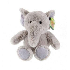 Elephant plush toy, 21cm