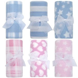 Baby Soft Fleece Roll Blanket