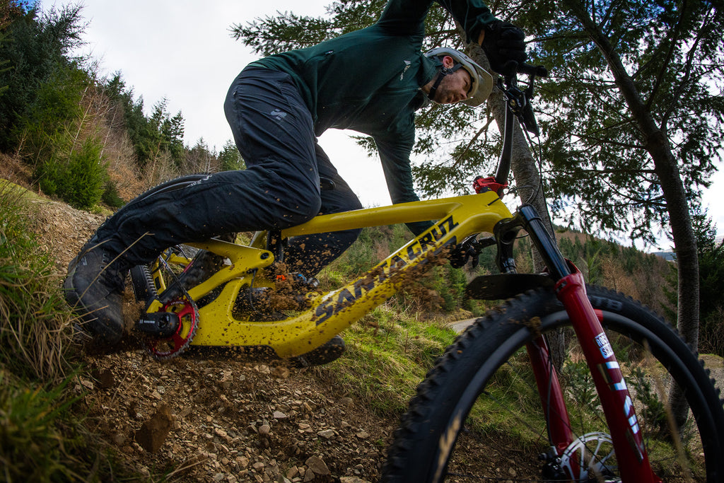 Andy Barlow riding at Innerleithen