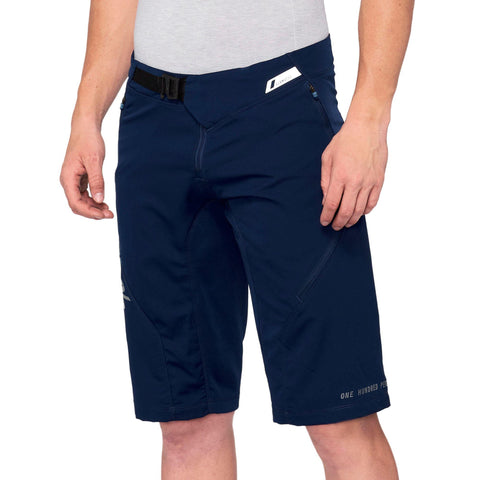 100Percent Airmatic Mountain Bike Short Navy at Tweed Valley Bikes