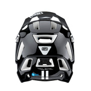 100% Trajecta Enduro Helmet Black Colour at Tweed Valley Bikes