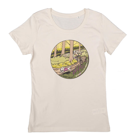 Tweed Valley Bikes Angry Sheep Trail Tee Womens