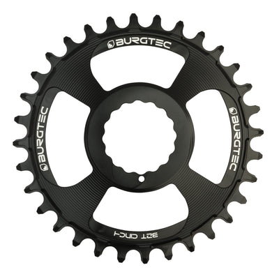 Burgtec Cinch Thick Think Chainring in Black at Tweed Valley Bikes