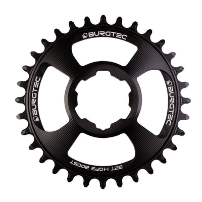 Burgtec Hope Thick Thin Chainring in Black at Tweed Valley Bikes