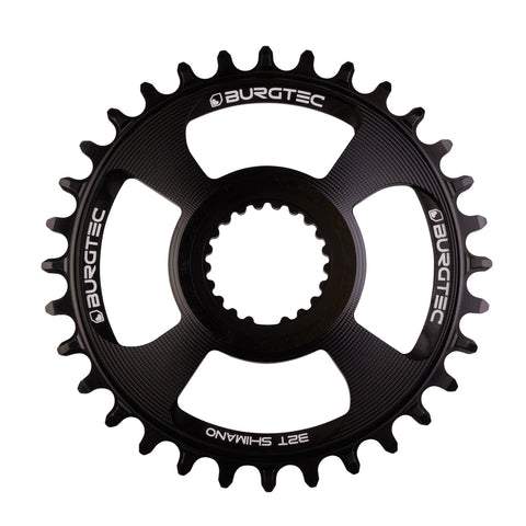 Burgtec Shimano Direct Mount Thick Thin Chainring at Tweed Valley Bikes