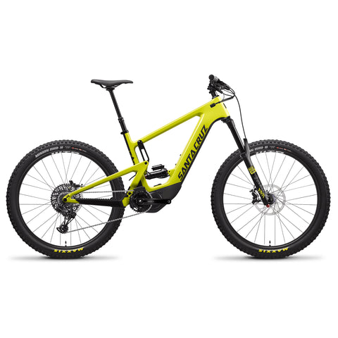 Santa Cruz Heckler eMTB carbon E-Bike R Build Kit enduro electric mountain bike perfect for the Golfie, Glentress, Innerleithen and riding in the Tweed Valley with Tweed Valley Guides