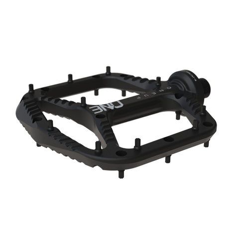 One Up Components MTB Aluminium Flat Pedal Black at Tweed Valley Bikes