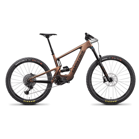 Santa Cruz Bicycles CC S spec Bullit Copper E bike 2021 at Tweed Valley Bikes