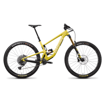 Santa Cruz Megatower CC XO1 in Amarillo Yellow 2021 at Tweed Valley Bikes