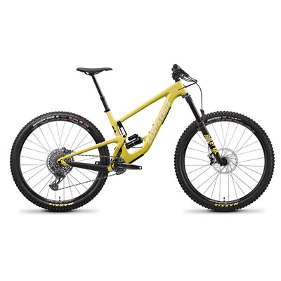 Santa Cruz Bicycles Megatower C S Amarillo Yellow 2021 Tweed Valley Bikes