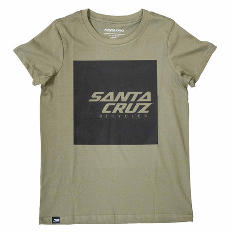 Santa Cruz Bicycle Squared Womens Tee Shirt