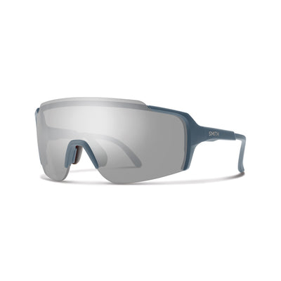 Smith Optics Flywheel MTB and Road Cycling Glasses Matte Iron Frame Grey Chromapop Lense at Tweed Valley Bikes