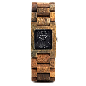 25mm Wooden Quartz Watch